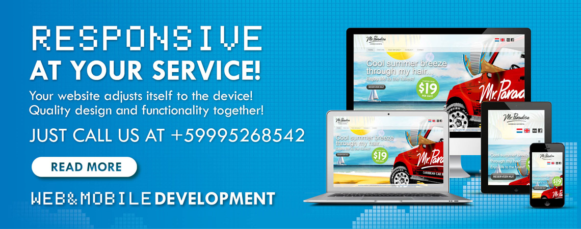 CCloud Media banner responsive mobile friendly website